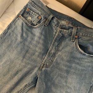 501 Stretch Skinny Women's Jeans - Light Wash